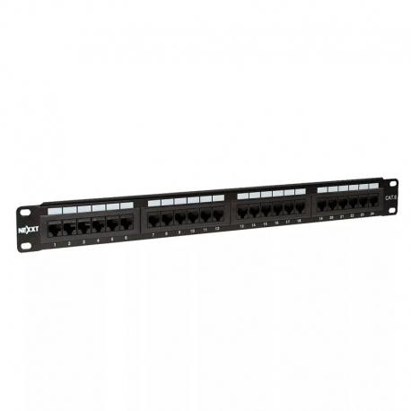 Patch Panel Nexxt 24p Cat5E 19' Rack 22-26 (AWG)