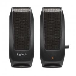 Parlante Logitech S120 3.5 mm Rca Negro