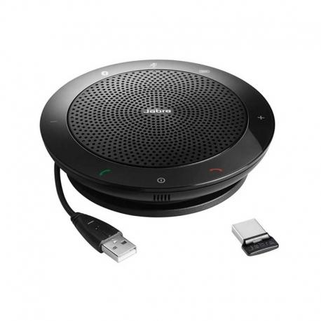 Parlante Jabra Speak 510 Bluetooth Pc USB Negro