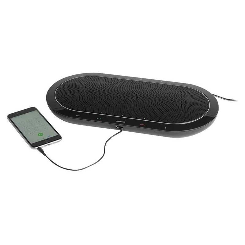 Jabra Speak 810 Ms Bluetooth Wireless Professional: Parlante Portátil Jabra Speak 810 Bluetooth 3.5mm