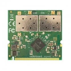 Adaptador Mikrotik R52HnD 7W-400mW-mini PCI