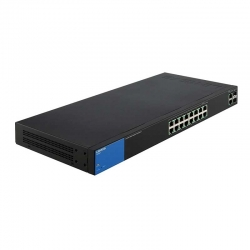 Switch Linksys 18p GigaE 2p FO-SFP PoE Rack