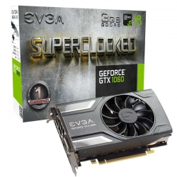 Tarjeta Video EVGA GeForce GTX 1060 3072 MB GDDR5