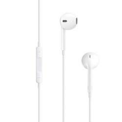 Audífonos APPLE 3.5 mm alámbricos blanco