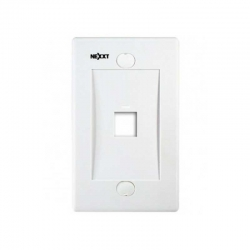 Placa de pared Nexxt Solutions 1 puerto RJ-45