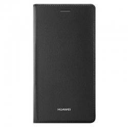 Estuche Flip Cover para Celular Huawei P8 -Marrón