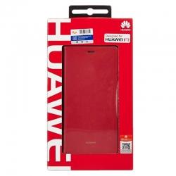Estuche Flip Cover para Celular Huawei P8 -Rojo