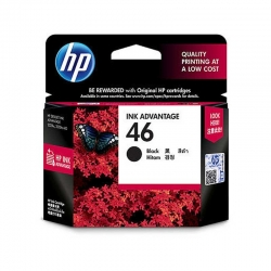Cartuchos Tinta HP 46 Negro Original Deskjet 26ml