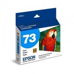 Cartuchos Tinta Epson 73 Cián Original T073220-AL