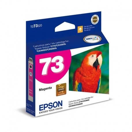 Cartuchos Tinta Epson 73 Magenta Original T073320