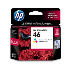 Cartuchos Tinta HP 46 Tricolor Advantange(CZ638AL)