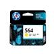Cartuchos Tinta HP 564 Amarillo Original 3ml 300Pa