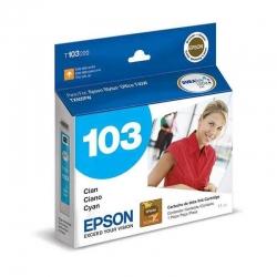 Cartuchos Tinta Epson 103 Cián Original T103220-AL