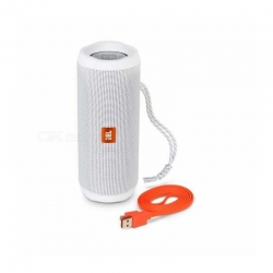 Parlante Portatil JBL Flip 4 BT 3.5 mm Blanco