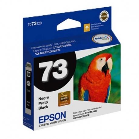 Cartuchos Tinta Epson 73 Negro Alta Capacidad