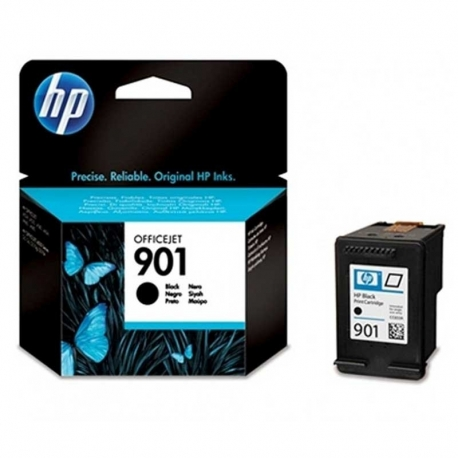 Cartuchos Tinta HP 901 Negro Original 4ml 200 Pag