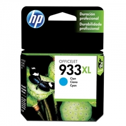 Cartuchos Tinta HP 933Xl Cián Original 8/5ml 825Pa