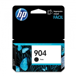Cartuchos Tinta HP 904 Negro Original 8ml 300Pag