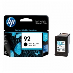 Cartuchos Tinta HP 92 Negro Original 5ml 220 Pag