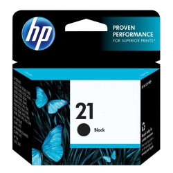 Cartuchos Tinta HP 21 Negro Original 5ml 190 Pag