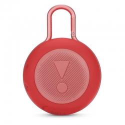 Parlante Portátil JBL Clip 3 Bluetooth 3.5mm Rojo