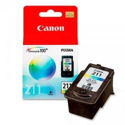 Cartuchos Tinta Canon CL 211 LAM a Color Impresión