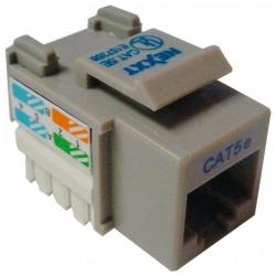 Conector modular Nexxt Solutions Rj45 gray-1 port