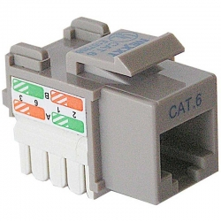 Conector Nexxt Solutions RJ-45 Cat6 Tipo 110 Gris