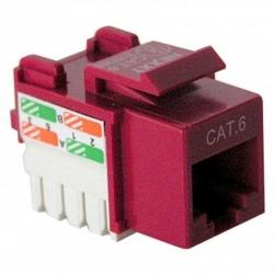 Conector Nexxt Solutions RJ-45 Cat6 Tipo 110 rojo