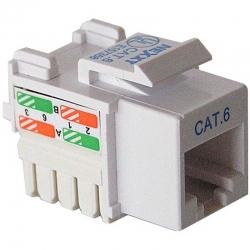 Conector Nexxt Solutions RJ-45 Cat6 Tip 110 blanco