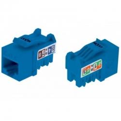Conector modular Nexxt RJ-45 Cat6 Tipo 110 azul