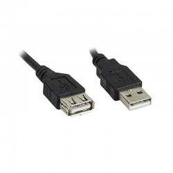 Adaptador Macho Hembra Xtech XTC-301 1.8m USB2.0