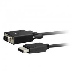 Adaptador Xtech xtc-342 DisplayPort a VGA macho