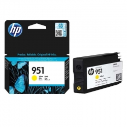 Cartuchos Tinta HP 951 Amarillo Original 700 Pag