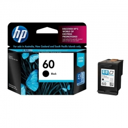 Cartuchos Tinta HP 60 Negro Original 4ml 200 Pag