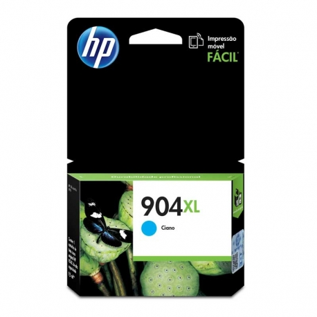 Cartuchos Tinta HP 904Xl Cián Original 4ml 825 Pag
