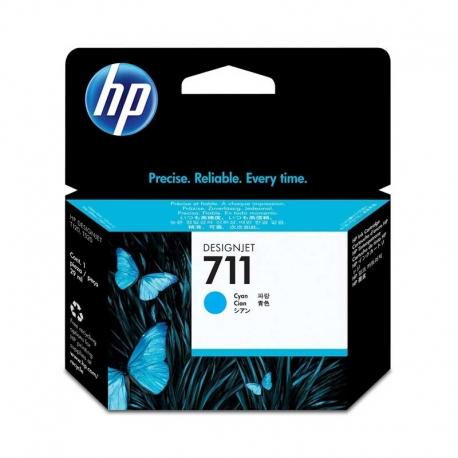 Cartuchos Tinta HP 711 Cián Original 29ml