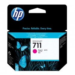 Cartuchos Tinta HP 711 Magenta Original 29ml