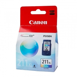 Cartuchos Tinta Canon CL 211Xl Color Original