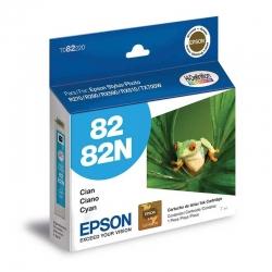 Cartuchos Tinta Epson 82 Cián Original 515 Pag