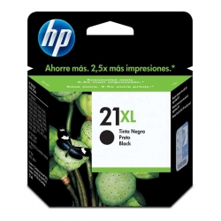 Cartuchos Tinta HP 21Xl Negro Original 12ml