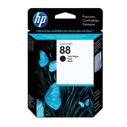 Cartuchos Tinta HP 88 Negro Original 20/5ml 850Pag