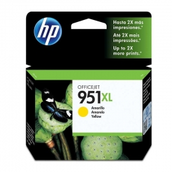Cartuchos Tinta HP 951Xl Amarillo Original 17ml