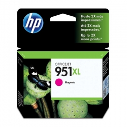 Cartuchos Tinta HP 951Xl Magenta Original 17ml
