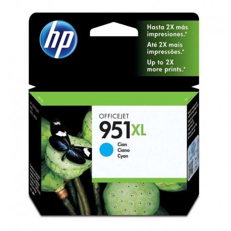 Cartuchos Tinta HP 951Xl Cián Original 24ml