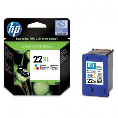 Cartuchos Tinta HP 22Xl Tricolor Original 11ml