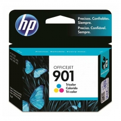 Cartucho Tinta HP 901 Tricolor Original 9ml 360Pag