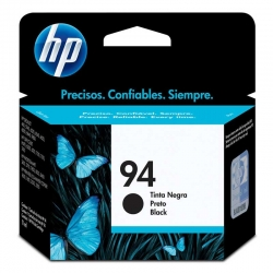 Cartuchos Tinta HP 94 Negro Original 11ml 480 Pag