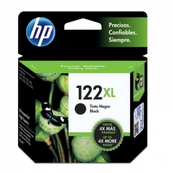 Cartuchos Tinta HP 122Xl Negro Original 8ml