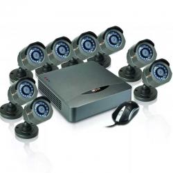 Kit Nexxt Xpy8008Hd 8CH 8 cámaras 720p